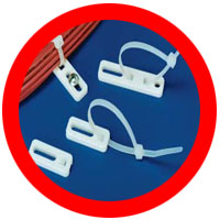 cable tie anchor plates