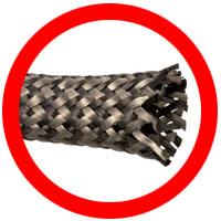 Carbon Fiber Braided Sleeving