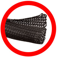 F6 Flame Retardant Braided Sleeving