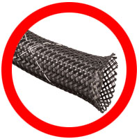 Flexo Flame Retardant Braided Sleeving