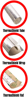 Thermasheild Aluminized Sleeving
